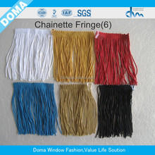 Fashion wholesale Handmade Small polyester tassel for key chain/fringes