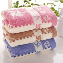 ST-1002-4,Wholesale Colorful Bamboo Fabric Face Towel