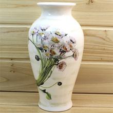 White Modern Ceramic Chinese Vase