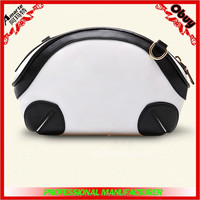 2015 latest korean style lovely young girl dumpling shaped shoulder cross bags with removable strap