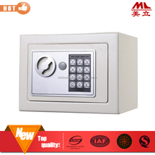 Home used small electronic digital wall mounted safe