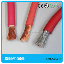copper conductor welding rubber cable wire