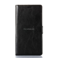 factory wholesale mobile phone case Wallet Photo Frame PU Leather Case For Sony E3 With Stand Card Holder Phone bag