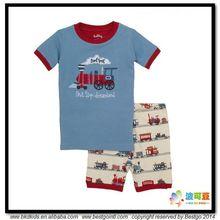 BKD verano impresa pijama de bebé de algodón