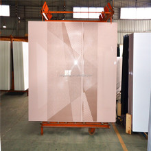 Paint Color Tempered Glass For Wardrobe