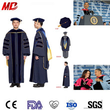 Tailored Doctoral Robes For Presidents And Trustees