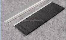 sweeping weather strip for revolving door