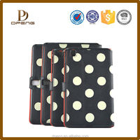 Wholesale custom Genuine leather cases with holder tablet bumper for 7 inch tablet