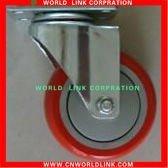 for waste bin rubber cast iron wheel
