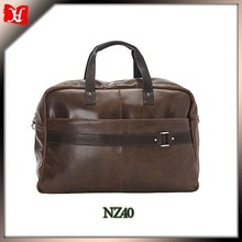 new products leather cow hide bags men 's weekend bag /Genuine Leather travelling bag