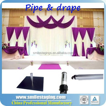 Wedding backdrop stand, 3x3 exhibition booth China supplier