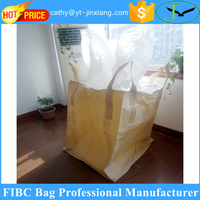 Storage use virgin pp woven flexible container polypropylene jumbo bag for pet bottle flake
