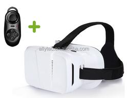Super light 3D VR glasses 3D VR box Recyclable plastic 3d vr virtual reality video glasses