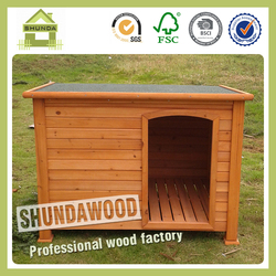 SDD07 classical design wooden dog houses for sale