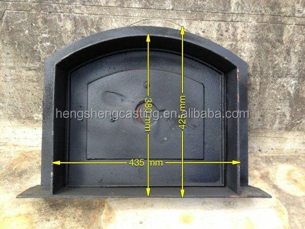 Cast Iron Fireplace Doors : Cast iron little kind indoor fireplace door view