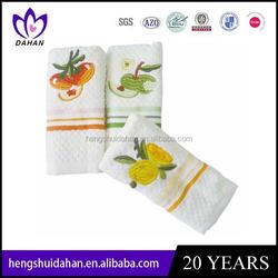 promotional terry bathroom hand towel