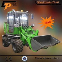 0.8 Ton Mini Type Cheap Weel Loader China and Articulated Front End Loader for sale