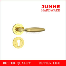Wenzhou junhe 2015 construction hardware door handles on rose