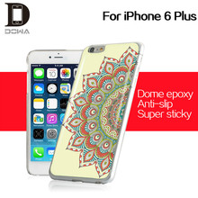At the top of the fashion OEM cell phone protective case epoxy for iphone6 plus