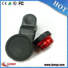 Mobile phone 3 In 1 180 degree Fish Eye