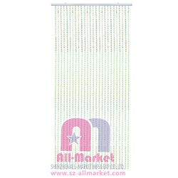 90*180CM/45 Iridescent green small diamond beaded curtain