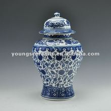 Chinese Antique Blue& White Ceramic Porcelain Decorative Vases Ginger Jar With different models can support mix order