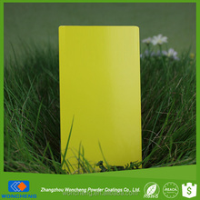 Colorful Decorative Sulfur Yellow Glossy Paint and Coating