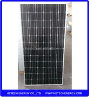 China products monocrystalline 185w solar panel pakistan lahore