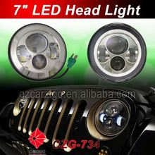"""factory direct sell best price motorcycle 7"""" round headlamp accessories for 4 by 4 off-road"""