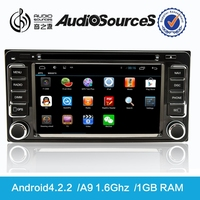 used toyota hilux vigo support canbus with SWC rear cemera TPMS Bluetooth and android4.4.4 system