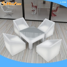 Supply all kinds of arm LED chair,plastic LED chair LED chair for restaurant