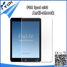 Wholsale price!anti shock mobile tempered glass screen protector for Ipad air 2
