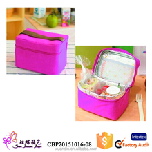 New arrival fashion custom insulated lunch bag for adults , fitness insulated lunch cooler bag manufacturer, cool bag