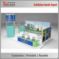 China exhibition display stand contractor provide free exhibition stand design