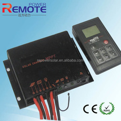 2014 hot sale Christmas street light MPPT solar controller charger waterproof 10A 12V automatic