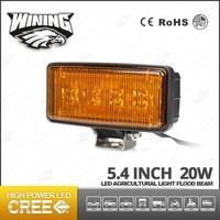 LED Amber Driving Turning Lights 20w 12v Flood LED Work Light For 4x4 Yellow Fog Lamp For Truck