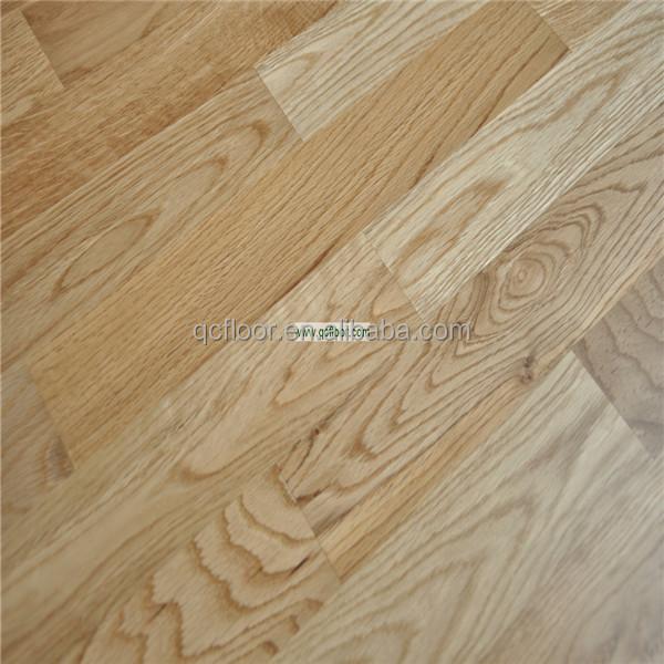 Parquet de madera de roble blanco blanco suelo de madera - Precio madera de roble ...