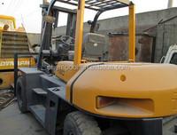 TCM forklift 8 ton for sale, FD80, used forklift in uae