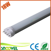 New Arrived 1W 2G11 pl led tube 4 pins with 3 years warranty