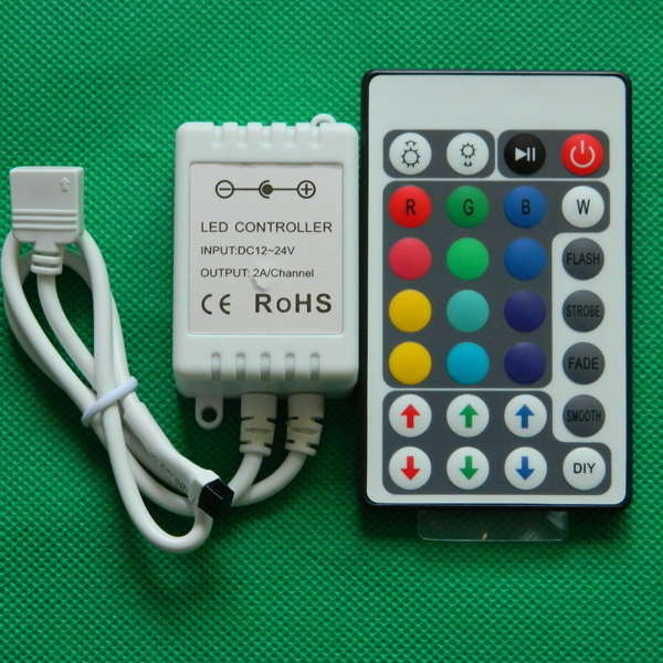 good quality 24 key IR RGB LED Controller