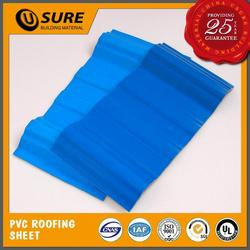 pvc corrugated plastic roof sheet machine for swimming pool cover
