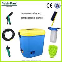 (23951) 16L best battery operated automatic portable high pressure car washer factory