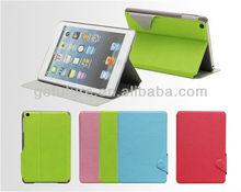Factory supply , custom PU leather case for ipad mini3