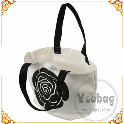 Recycled wholesale cheap wholesale plain canvas tote bags With Logo Print