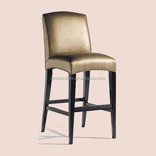 China Foshan hotel solid wooden bar chair furniture IDM-C014