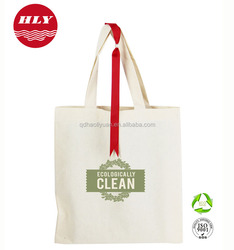 8OZ Wholesale Promotional Custom Blank Tote Canvas Bag