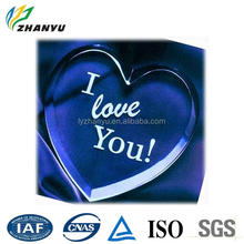 Heart-shaped Gift Plexiglass Craft to Girl Friend to Expressing Loving Direct Manufacturer