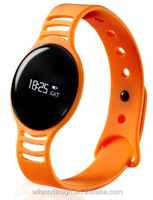 sharp orange round well fashion teenage girls smart watches