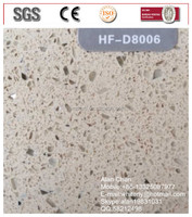 Solid Surface White Artificial Stone Composite Quartz Stone