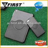for newest ipad mini 360 degree hard rotation case with stand function